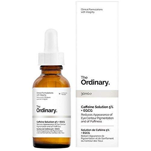 The Ordinary - The Ordinary Caffeine Solution 5% + EGCG (30ml): Reduces Appearance of Eye Contour Pigmentation and Puffiness