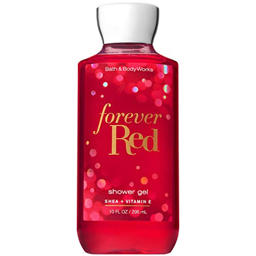 Bath & Body Works - Bath and Body Works FOREVER RED with Shea and Vitamin E Shower Gel 10 Fluid Ounce (2018 Limited Edition)