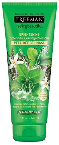 Freeman - Facial Green Tea+Orange Blossom Peel-Off Gel Mask