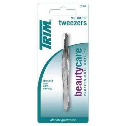 Trim - Trim Tweezers Square Tip - Pack of 2