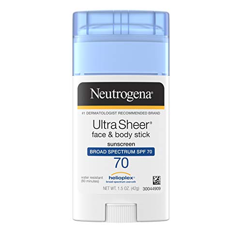 Neutrogena - Neutrogena Wet Skin Kids Water Resistant Sunscreen Stick for Face and Body + Non-Greasy Sunscreen Stick