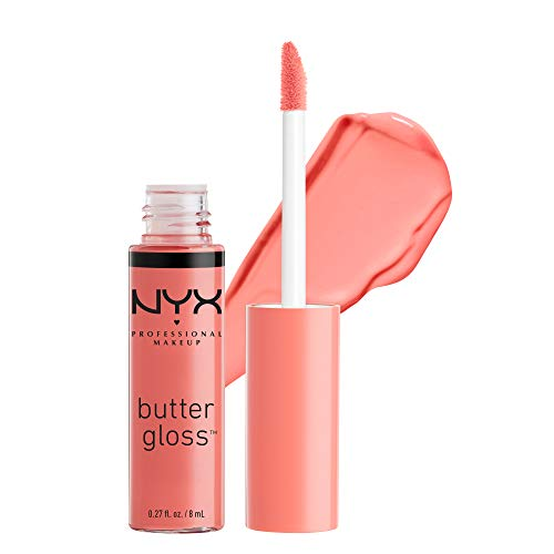 NYX - NYX Professional Makeup Butter Gloss, Apple Strudel, 0.27 Fluid Ounce