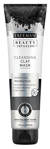 Freeman - Freeman Beauty Infusion Mask Cleansing Clay 4 Ounce (Probiotic) (118ml) (2 Pack)