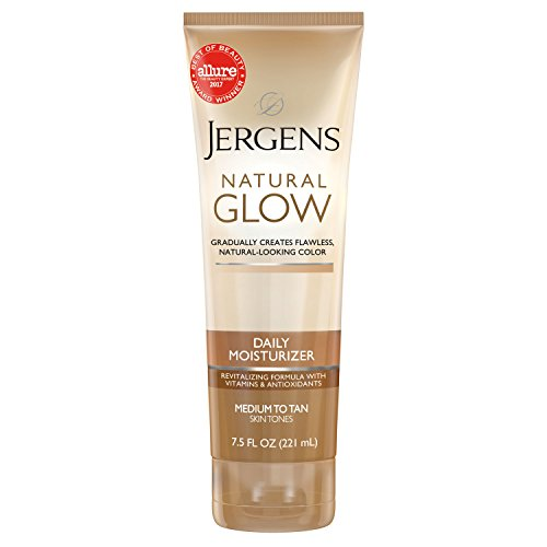 Jergens - Jergens Nat Glow Med/Tan Size 7.5z Jergens Natural Glow Daily Moisturizer For Medium/Tan Skin