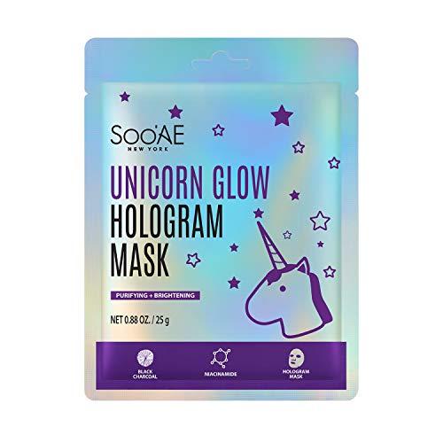 SOOAE Soo'AE Unicorn Glow Hologram Mask