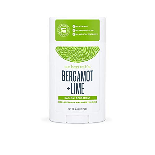 Schmidt'S - Bergamot + Lime Natural Deodorant