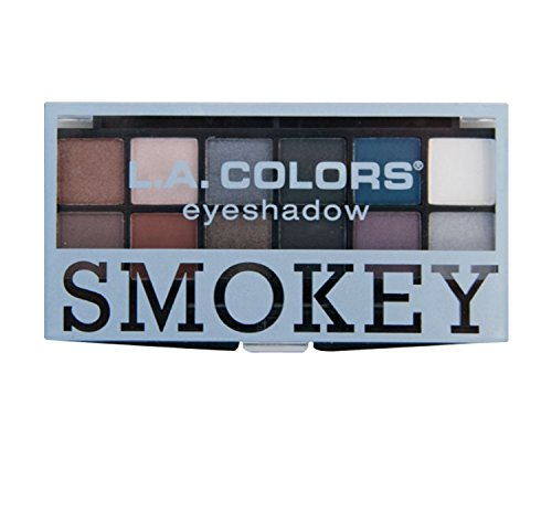 LA Colors - LA Colors SMOKEY 12 Eyeshadow Palette