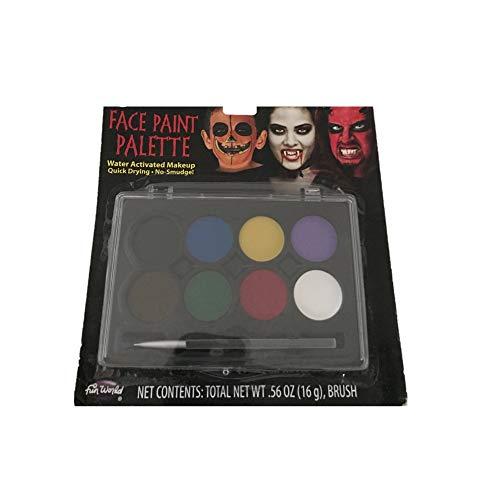 Bleyer Easter Packaging Div - Halloween Makeup Face Paint Palette