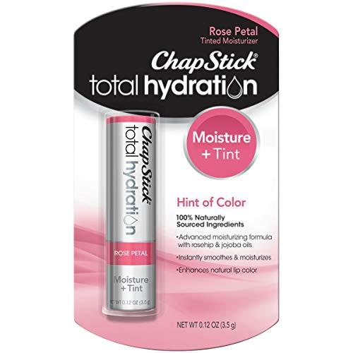 Chapstick - ChapStick Total Hydration, Rose Petal, 0.12 Ounce