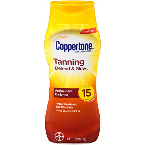 Coppertone - Coppertone Tanning Defend & Glow Sunscreen Spray and Lotion