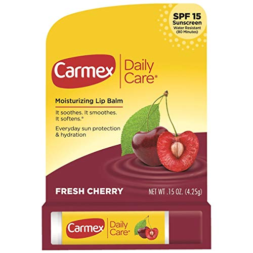 Carmex - Carmex Click-Stick Moisturizing Lip Balm SPF 15 Cherry 0.15 oz (Pack of 12)