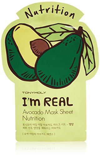 Tonymoly - TONYMOLY I'm Real Olive Radiance Mask Sheet