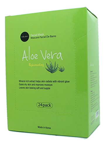 Celavi Cosmetics - Essence Facial Paper Sheet Mask, Aloe Vera