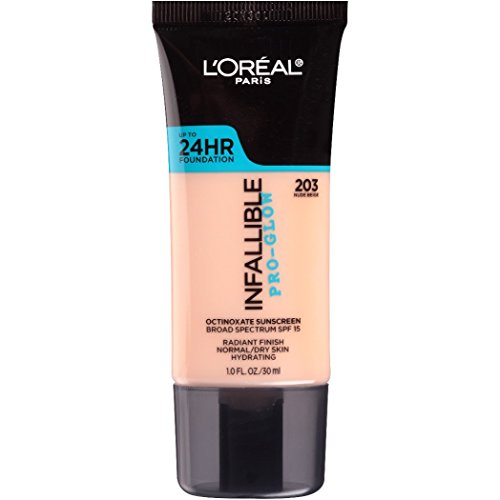 L'Oreal Paris - Makeup Infallible Up to 24HR Pro-Glow Foundation, Nude Beige