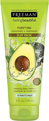 Freeman - Freeman Feeling Beautiful Facial Clay Masque Avocado & Oatmeal 6 oz ( Pack of 6)