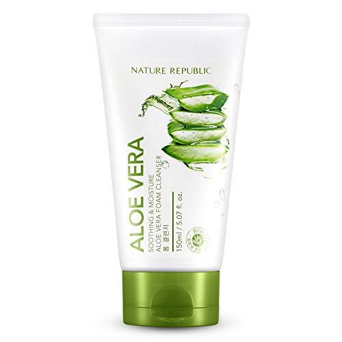 Nature Republic - Soothing & Moisture Aloe Vera Foam Cleanser