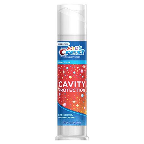 Crest - Crest Kid's Cavity Protection Sparkle Fun Flavor Toothpaste, 4.2 oz