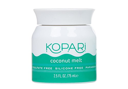 Kopari Beauty - Kopari Coconut Mini Melt - All-over Skin Moisturizing, Under Eye Rescuing, Hair Conditioning + More With 100% Organic Coconut Oil, Non GMO, Vegan, Cruelty Free, Paraben Free and Sulfate Free 2.5 Oz