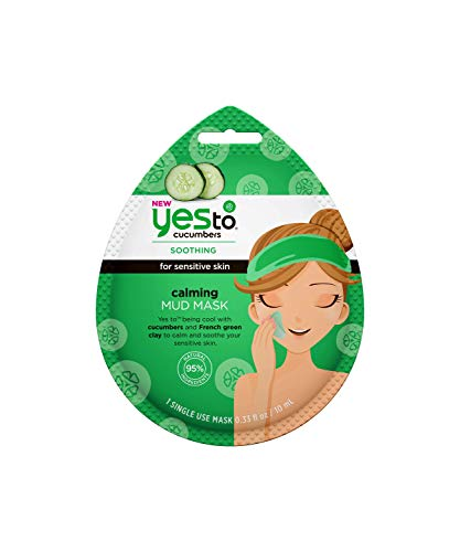 Yes To - Cucumbers Calming Mud Face Mask for Sensitive Skin
