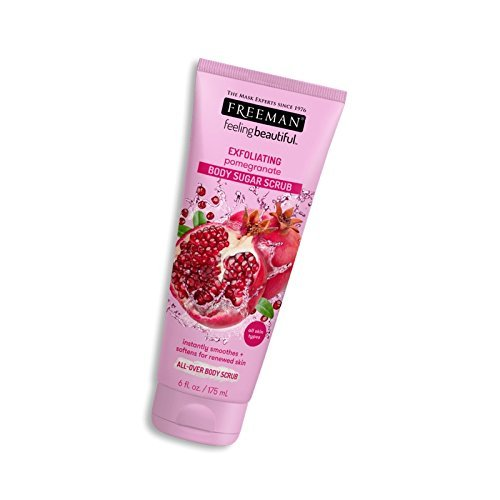 FREEMAN BEAUTY LABS - Freeman Feeling Beautiful Exfoliating Pomegranate Body Sugar Scrub 6 oz