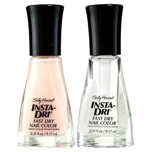 Sally Hansen - Sally Hansen Insta-dri Fast Dry Nail Color 04 Petal Pusher Plus Sally Hansen Insta-dri Fast Dry Nail Color O1 CLEARLY QUICK(COMBINATION)