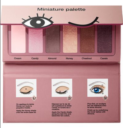 Sephora - Miniature Palette, Donut Shades Collection