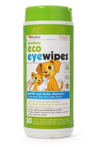 Petkin - Petkin Bamboo Eco Eyewipes, 80 Count