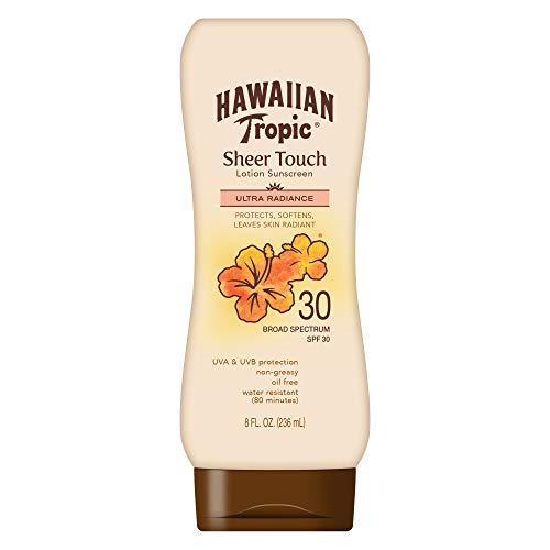 Hawaiian Tropic - Hawaiian Tropic Broad Spectrum Sunscreen, Sheer Touch Moisturizing Protection Sunscreen Lotion
