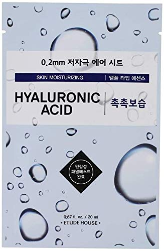 Etude House Etude House Hyaluronic Acid Mask 10 Sheets, Air Theraphy Mask (New version of I need you mask)