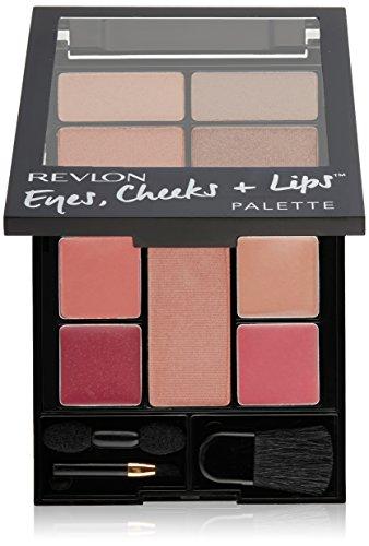 Revlon - Revlon Eyes Cheeks & Lips Palette,100 Romantic Nudes, (Pack of 2)
