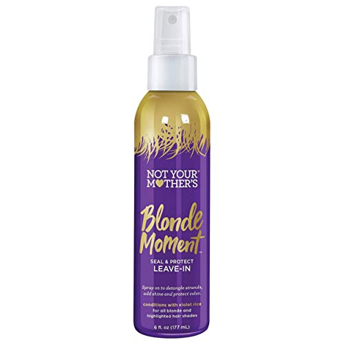Not Your Mother's - Not Your Mothers Blonde Moment Seal Protect Leave-In 6 Ounce Pump (177ml) (2 Pack)