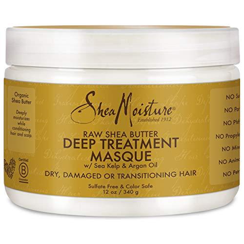 Sheamoisture - Shea Moisture Raw Shea Masque 12 Ounce Jar (354ml) (3 Pack)