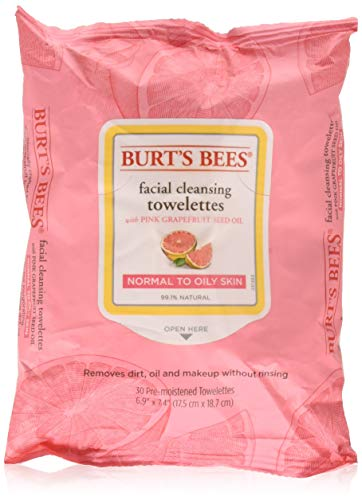 Burts Bees - Facial Cleansing Towelettes, Pink Grapefruit