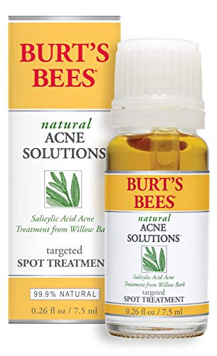 Burts Bees - Burt's Bees Natural Acne Solutions Targeted Spot Treatment for Oily Skin, 0.26 Ounces