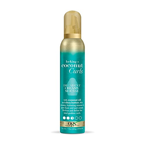 Organix - Locking + Coconut Curls Decadent Creamy Mousse