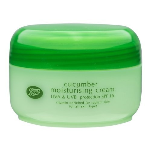 Boots - Boots Cucumber Moisturising Cream SPF 15 UVA & UVB Protection 100 ml