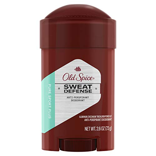 Old Spice - Old Spice Hardest Working Collection Sweat Defense Anti-Perspirant Deodorant, Pure Sport Plus, 2.6 Ounce