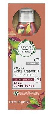 Herbal Essences - Herbal Essences Bio:Renew White Grapefruit & Mosa Mint Shower Foam Conditioner, 6 oz, pack of 1
