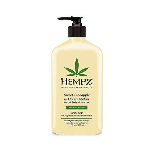 Hempz - Hempz Body Moisturizer Sweet Pineapple and Honey Melon 17 Ounce Pump (500ml) (Pack of 2)