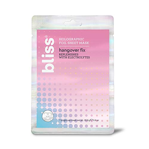 Bliss - Hangover Fix Holographic Foil Sheet Mask
