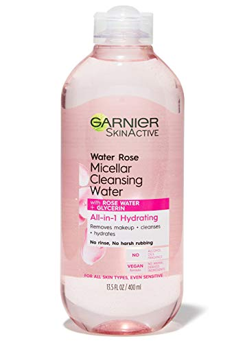 Garnier - SkinActive Micellar Cleansing Water with Rose Water and Glycerin