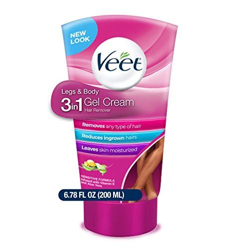 Veet - Legs & Body 3 in 1 Gel Cream Hair Remover