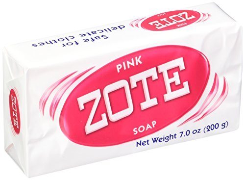 Zote Zote Laundry Soap Bar Pink 4 Bars 7.0 Ounce Each