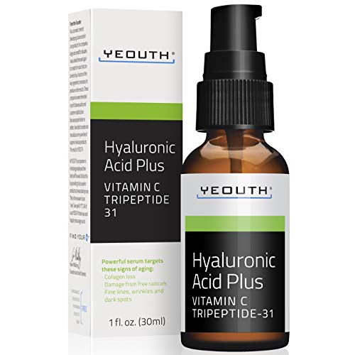Yeouth - YEOUTH Best Anti Aging Vitamin C Serum with Hyaluronic Acid & Tripeptide 31 Trumps ALL Others.