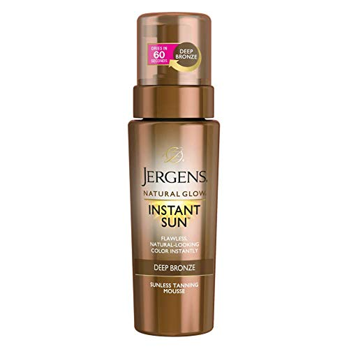 Jergens - Natural Glow Instant Sun Sunless Tanning Mousse
