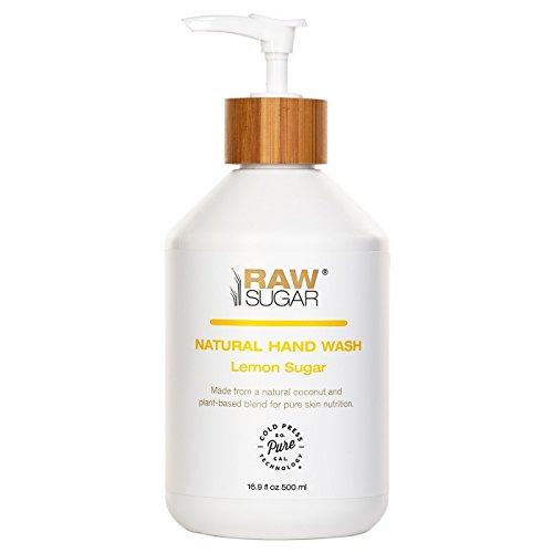 Sugar in the Raw - Raw Sugar Lemon Sugar Natural Hand Wash - 16.9oz
