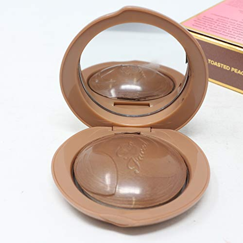 Toofaced Bronzed Peach Melting Powder Bronzer, Toasted Peach