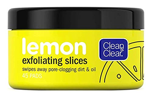 Clean & Clear Clean & Clear Lemon Exfoliating Slices 45 Count (3 Pack)