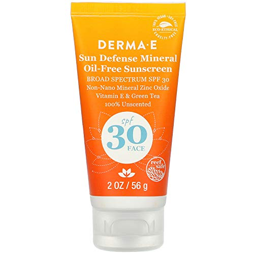 Derma E - Natural Mineral Sunscreen SPF 30 Oil-Free Face