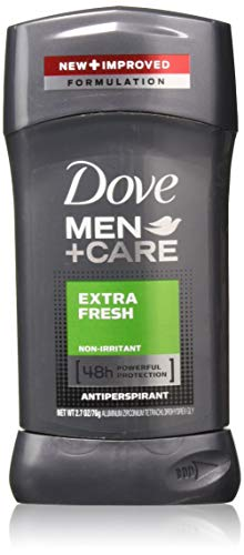 Dove - Dove Men + Care 48 Hour Antiperspirant Stick, Non-Irritant, Extra Fresh, 2.7 Ounces, Pack of 7